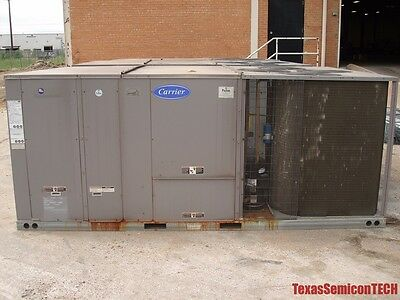 Carrier Weathermaker 50TC Rooftop Electric Cooling Units 460V R-410A - 1 Unit