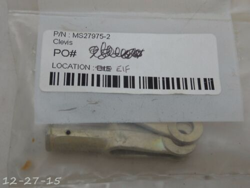 New Cessna Clevis MS27975-2
