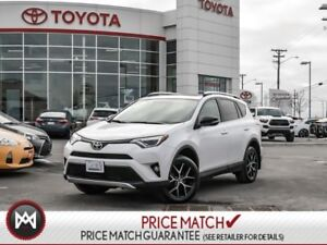 2016 Toyota RAV4 SE: LEATHER, SUNROOF, ALLOY WHEELS Beautiful RA