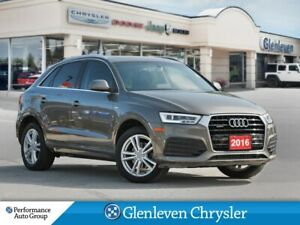2016 Audi Q3 Technik S Line leather navigation