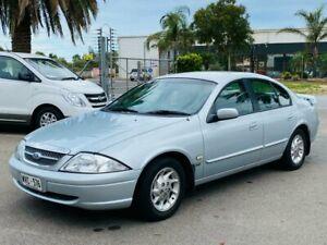 1999 Ford Fairmont AU Silver 4 Speed Automatic Sedan Mawson Lakes Salisbury Area Preview