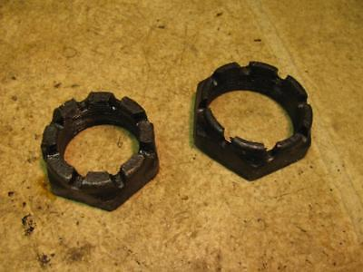 1923 Fordson Model F Tractor Transmission Input Shaft Nuts