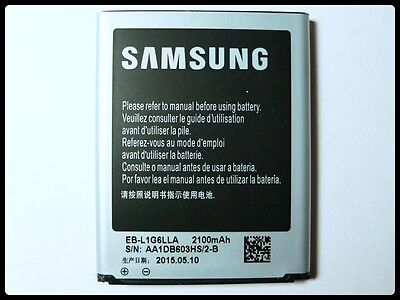 New Original OEM Samsung Galaxy S3 Battery 2100mAh EB-L1G6LLA