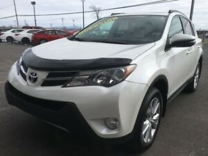 2013 Toyota RAV4 Limited AWD CUIR TOIT MAGS GPS SIÈGES CHAUFFANT
