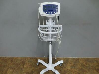 Welch Allyn Vital Signs Patient Monitor 300 Series Spo2 Nibp Temp Stand 53stp
