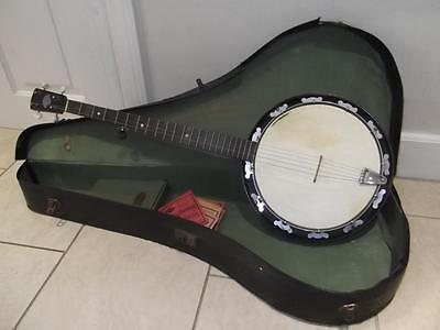 Vintage John Grey 5-String Banjo in Case