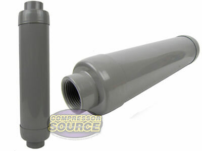 Air Compressor 1.25 Filter Silencer Muffler Solberg Quiet Intake Head In Take
