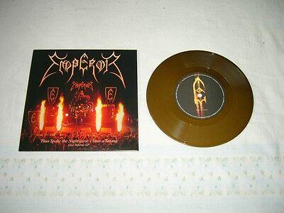 EMPEROR --- rare original 2009 THUS SPAKE THE NIGHTSPIRIT 7'', GOLD Vinyl!!!