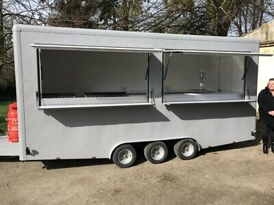 Vintage looking Burger van /catering trailer for sale / food trailer