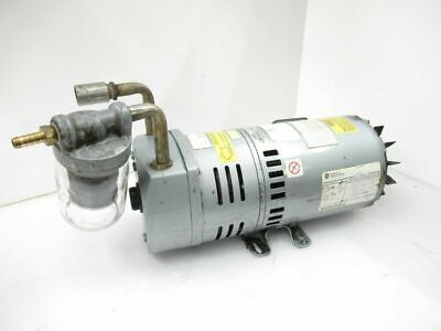 5k49mn4012-ge Motors Industrial Systems Gast Vacuum Pump Used Tested
