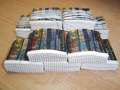 200 x 1,45€ ungestempelt ungummiert abgelöst Briefmarken Buchenwälder ,Sammler