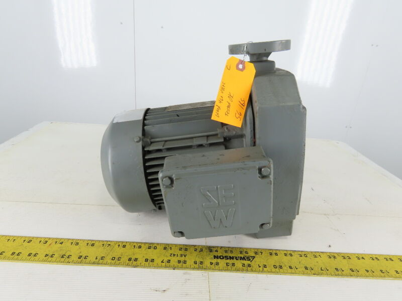 SEW-EURODRIVE 1-1/2Hp Electric Motor W/Variable Speed Drive Adapter