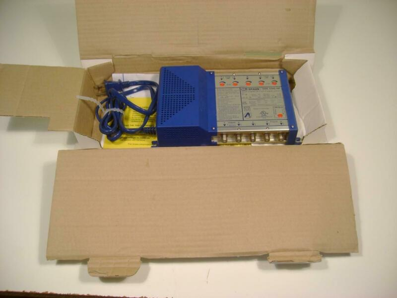 Spaun SBK 5502 NF Launch Amplifier for 4 SAT IF Signals and Terrestrial