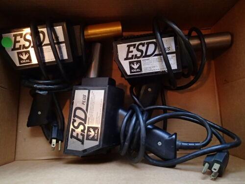 Ideal ESD Plus Heat Guns Model 46-1118 Lot of 3