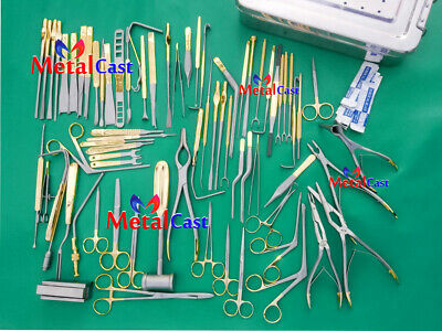 Rhinoplasty Major Instruments Set Of 82 Pcs Nose And Plastic Surgery Instruments