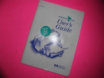 HEWLETT PACKARD HP DESKJET 660 CSE PRINTER USER'S GUIDE/MANUAL Hewlett Packard Users Guide