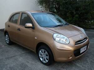 2012 Nissan Micra Hatchback auto rego rwc vgc Currumbin Waters Gold Coast South Preview