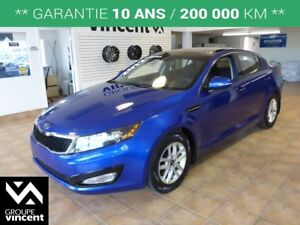 2012 Kia Optima LX PLUS **GARANTIE 10 ANS**