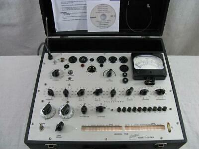 Hickok 752 Mutual Conductance Tube Tester - Calibrated - Near Perfect Specs .