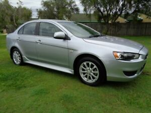2012 Mitsubishi Lancer CJ MY13 LX Silver 6 Speed Constant Variable Sedan Kippa-ring Redcliffe Area Preview