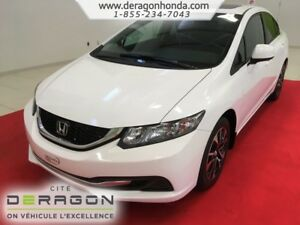 2013 Honda Civic Sdn EX + BAS KILOMETRAGE + JAMAIS ACCIDENTE EX