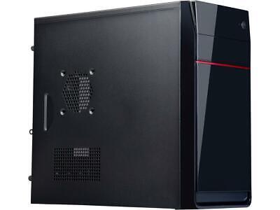 Rosewill SCM-01B Black Steel / Plastic Micro ATX Mini Tower Computer Case