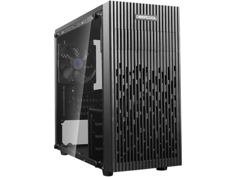 DEEPCOOL MATREXX 30 Micro ATX Case Tempered Glass Panel Larger Area of Air-intak