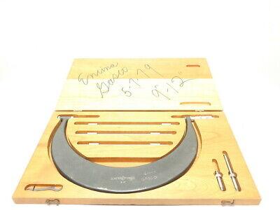 Scherr Tumico Tubular Outside 9-12in Micrometer