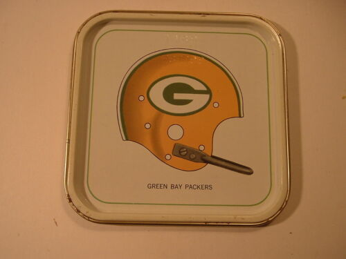1965 Green Bay Packers Hormel Tin Tray