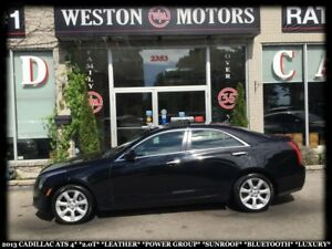 2013 Cadillac ATS ATS4*2.0T*AWD*LEATHER*PWR GROUP*SUNROOF*LUXURY