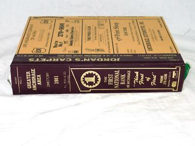 Vintage 1981 Anchorage Alaska Polk's City Directory Business Phone Book Address