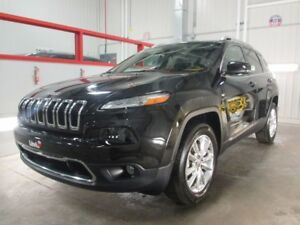2015 Jeep Cherokee LIMITED 4X4 V6 TOIT PANORAMIQUE GPS CUIR