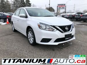 2018 Nissan Sentra SV-Camera-Sunroof-Driving Aid-Heated Seats-XM