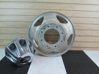 2012 GMC Sierra Polished Aluminum Rear Outer Wheel Opt RS7 17x6-1/2