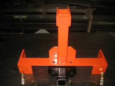 Transformer 3 Point Tailer Hitch That Is Quick Hitch Compatible For Kubotakioti