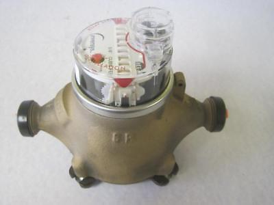 New Sensus 58 X 34 Cubic Feet Bronze Water Meter Invensys Ice Ecr Flow