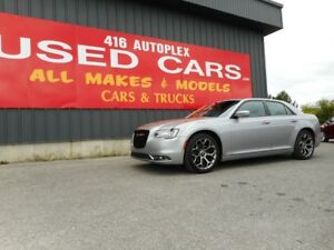 2016 Chrysler 300 300S Nav, Sunroof, Leather