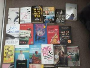 Bulk lot of books - Fiction, travel, memoir - must take all