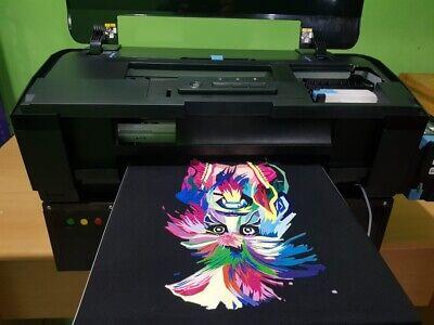 Dtg Printer Epson L1800 - Print Dark Light Tshirts Direct To Garment Business