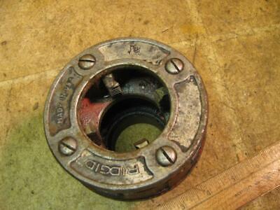 Ridgid 12r 1-12 Die Head Ratchet Hand Pipe Threader 700 Power Drive