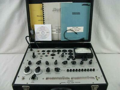 Hickok 752a Mutual Conductance Tube Tester - Calibrated - Near Perfect Specs