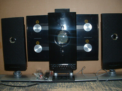 iLuv i9200BLK High-Fidelity Mini Audio Stereo CD Ipod System Ipod Stereo System