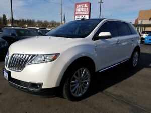 2013 Lincoln MKX CLEAN CAR PROOF REPORT !!  ONE OWNER !!