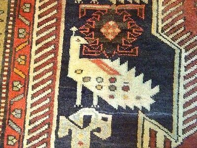 C 1930 Stunning Antique Caucasian Lenkoran Persian Exquisite Rug 4' 5