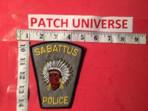 SABATTUS MAINE  POLICE SHOULDER PATCH  I092