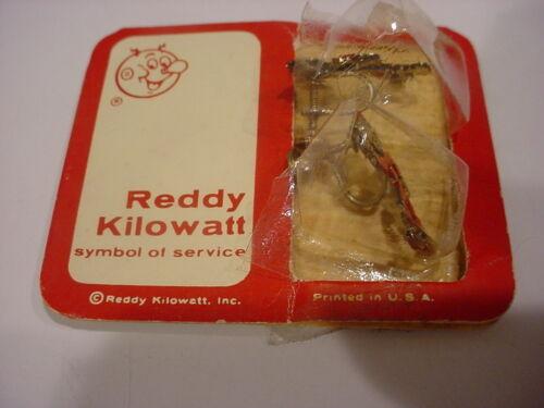 rare REDDY KILOWATT EARRINGS in orig PKG FREE SHIP