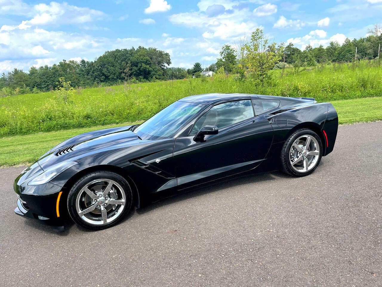 2014 Black Chevrolet Corvette Coupe 3LT | C7 Corvette Photo 6