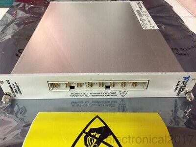 National Instruments Scxi-1124 6-ch Isolated Dac Voltagecurrent Output Module