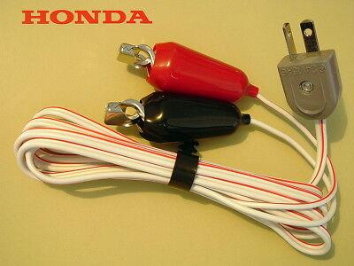 Honda 32650-892-013 12v Battery Charging Cord Eu1000i Eu2000i Eu2200i Eu3000is