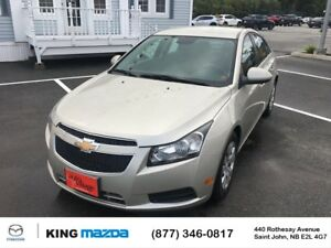 2013 Chevrolet Cruze LT Turbo ONE OWNER...LOW KMS..AUTO..AIR..PO